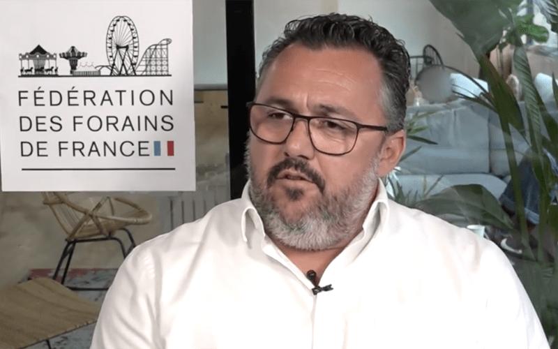 Stéphane Dubief - Membre fondateur - Fédération des Forains de France