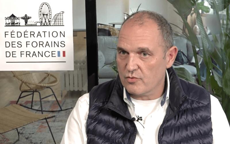 Xavier Saguet - Membre fondateur - Fédération des Forains de France